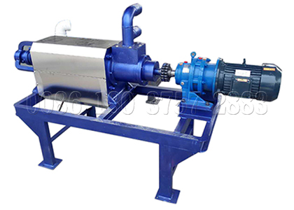 Chicken Dewatering Machine of Manure Composting System