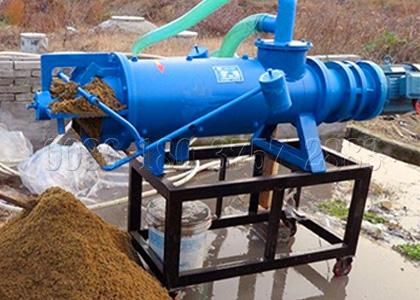 Chicken manure dehydrating machine in chicken manure composting system