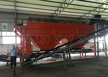 Compost Screener for Large Scale Chicken Manure Compost Plants