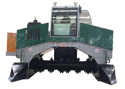 Compost fertilizer making process and equipment