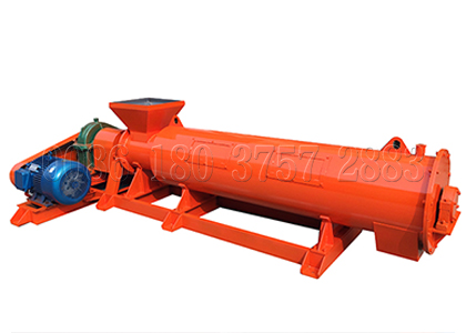 Newly designed chicken manure fertilizer granulator
