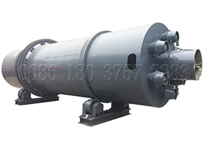 Rotary drum drying machine for chicken waste processing