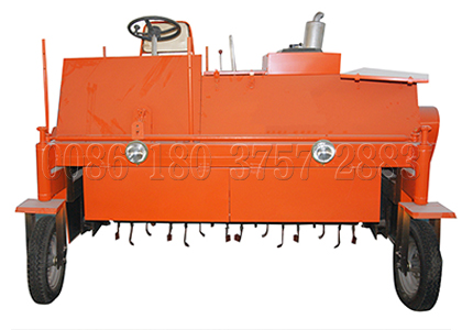 SEEC self-propelled compost turner to Peru