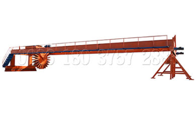 Wheel type compost turner for sale