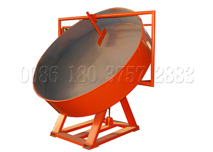easy-to-operate pan granulator