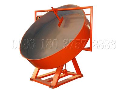 easy-to-operate pan granulator