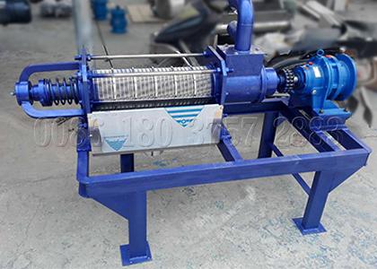small capacity manure water seperator equipment