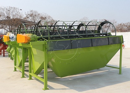 Shunxin Compost Fertilizer Screening Machine in Stock