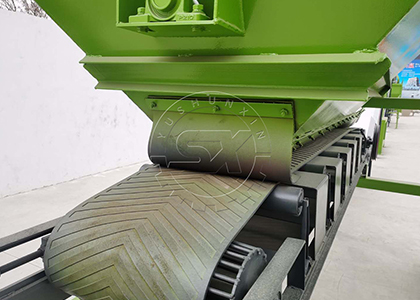 ShunXin Tailored Transmission System on Compost Screener